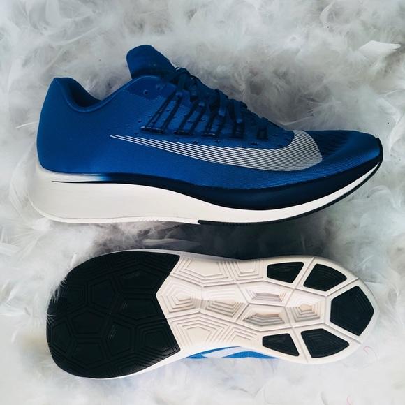 184342d8c1b1 Nike Zoom Fly running shoes sz 13 blue